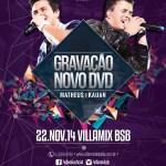 GRAVAÇÃO DVD Matheus & Kauan