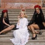 A Mantilha espanhola por Angelica Ferrer