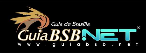 Logomarca Guia BSB.NET - Fundo Preto