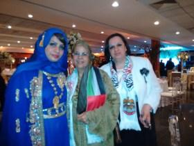 Embaixatrizes de Omã prestigiaram evento