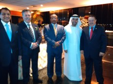 Srs. Embaixadores, da Turquia, Sudão, Diplomata Emirados Árabes, Libya.