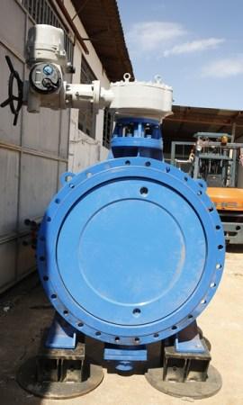 Válvula que será instalada - Foto: Correioweb