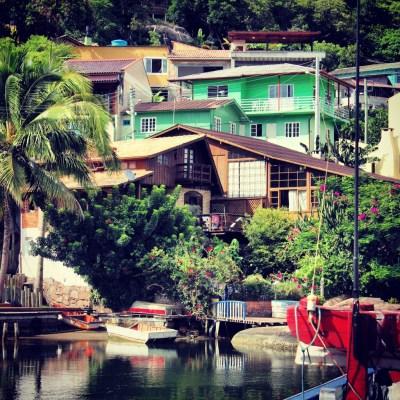 Casas e muita natureza em Florianópolis