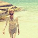 Angelica Ferrer na Ilha do Campeche