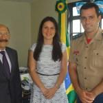 Embaixador da Guatemala recebe ASCOP/CBMDF