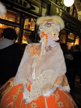 Carnaval em Veneza, praça de San Marco