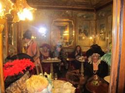 Fantasia de época no carnaval de Veneza