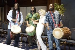 Angelica Ferrer no Samba e Viva o Brasil - Foto: Mark Kanawati