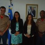 ASCOP/CBMDF visita Embaixada de El Salvador