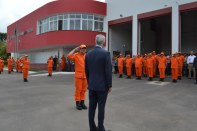 Inauguração do novo quartel do Corpo de Bombeiros