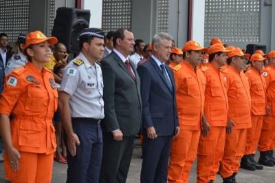 Governador Rodrigo Rollemberg presente na inauguração do novo quartel do Corpo de Bombeiros
