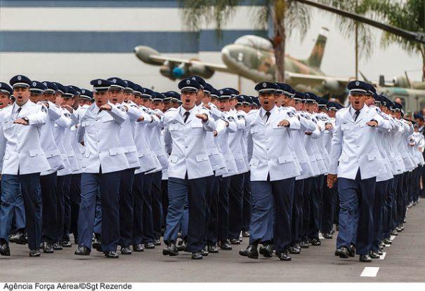 Aeronáutica. Formatura na EEAR - Escola de Especialistas da Aeronáutica - Foto: Agência Força Aérea / Sgt Rezende