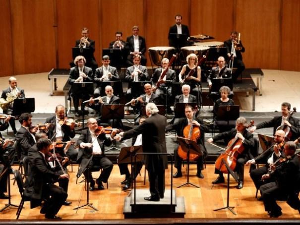 Orquestra Petrobras Sinfônica em apresentação no Teatro Municipal, no Rio de Janeiro (Foto: Fábio Rossi/Divulgação)