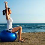 Pilates no Taguaparque em comemoração ao Dia Internacional da Mulher