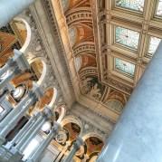 Arquitetura neo clásica legraría do Congresso Washington DC