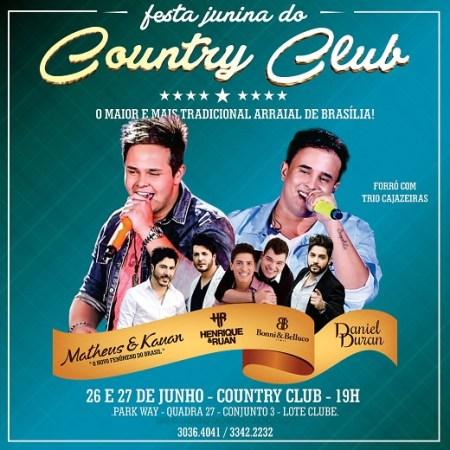 Festa Junina do Country Club