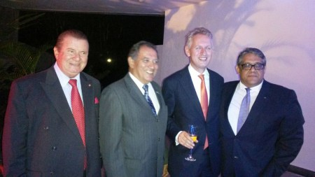 Rubens Galerane, Diplomata, Embaixador Han Peters