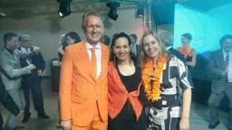 Embaixador Han Peters e amigas