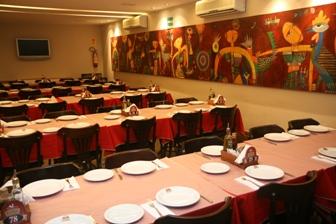 Galeteria Beira Lago possui espaço para eventos - Foto: Galeteria Beira Lago
