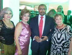 Sr. Embaixador do Sudão, Abd Elghani, Luzia Câmara