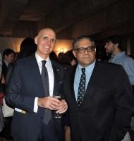 Embaixador da Itália, Rafael Trombetta, e Carlos Vieira Jr., Chefe de Cerimonial da Câmara Legislativa
