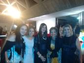 Tatiana, Tatiana Caruso, Luzia Câmara, Isabel e amiga.