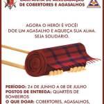 Campanha de cobertores e agasalhos do Corpo de Bombeiros Militar do DF