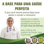 Palestra com Dr. Ícaro Alves Alcântara amanhã (12/06), na Polícia Civil do DF