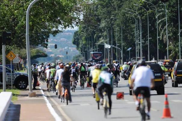 Passeio Ciclístico em comemoração ao Dia Mundial do Meio Ambiente - Fonte: Secretaria do Esporte e Lazer do DF