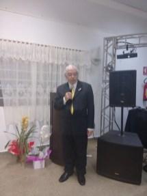 Sr. Lucílio, padrinho do Rotary Clube Brasília Aeroporto