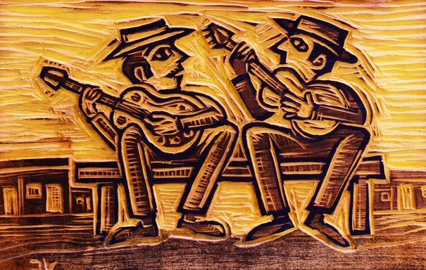 Mostra de Artesanato dá destaque a arte em papel - Os Repentistas de Valdério Costa - Foto: Divulgação