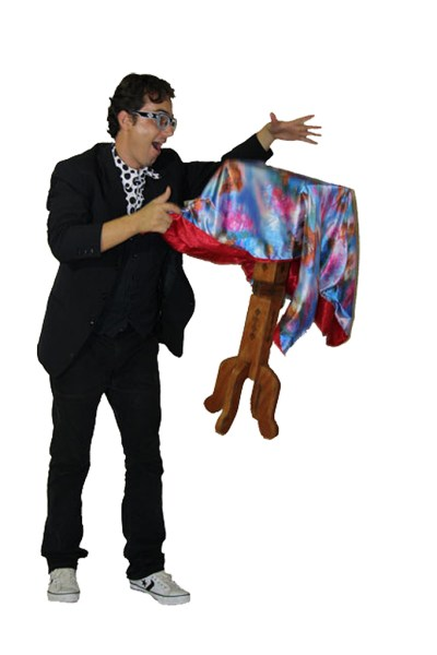 Show de Mágica com Jeff Duprado - Crédito Divulgação