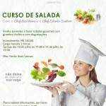 Curso de salada com o Chef Luis Vieira e o Chef Estevão Santoro