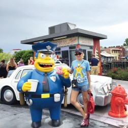 Simpsons Road, Universal Studios