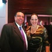Vice Secretário de Turismo e Cris Cavalli