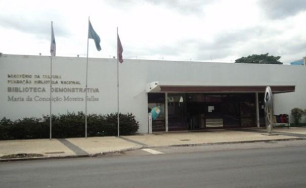 MP vai investigar atraso em obras da Biblioteca Demonstrativa de Brasília - Foto: Lucas Pacheco/Esp.CB/D.A Press