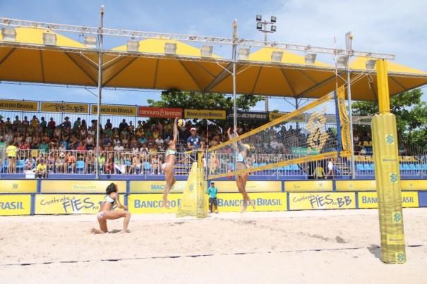 Brasília recebe abertura da 25ª temporada do Circuito Brasileiro de Vôlei de Praia - Foto: CBV