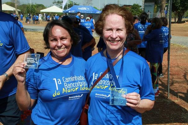 Vânia Barros e Maria de Jesus Gomes