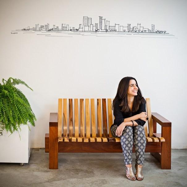 "Arquiteta Juliana Santana irá assinar a ""Varanda Tropical"" na Casa Cor Brasília 2015 - Crédito Haruo Mikami"