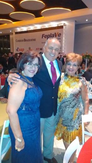 Sonia Ruscher, Toni Vilarinho e Luzia Câmara