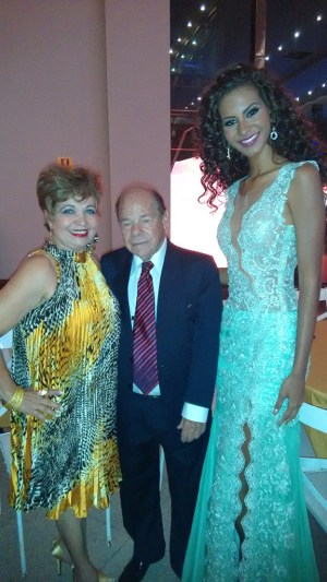 Luzia Câmara, Heraldo Moll e Miss DF no Prêmio Colibri DF
