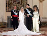Vestida de noiva própria de uma verdadeira rainha e personalidade com estilo que anuncia o que podemos esperar para o futuro.