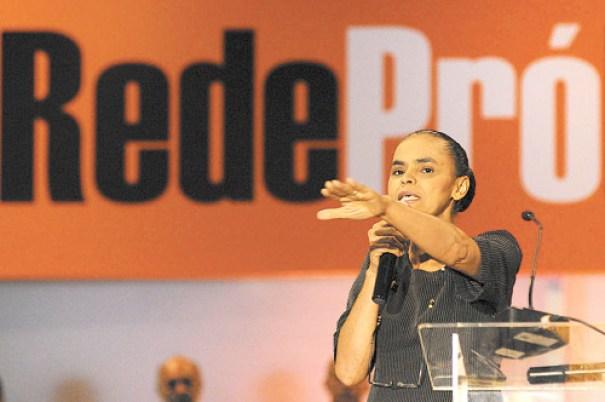 TSE registra Rede Sustentabilidade, partido fundado por Marina Silva. Crédito: Edilson Rodrigues/CB/D.A Press