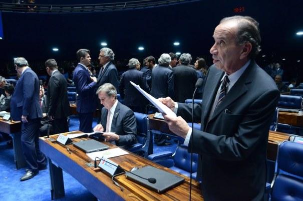 Transporte passa a ser direito social na Constituição - Foto: Ana Volpe/Agência Senado