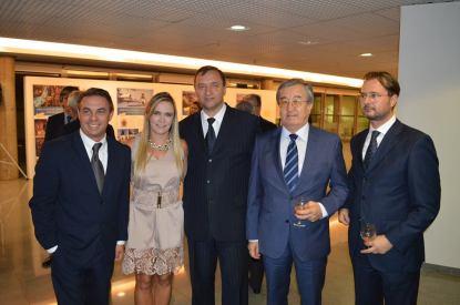 Senhor Embaixador, Norbert Konkoly, a Presidente da Câmara Legislativa do Distrito Federal, Deputada Celina Leão, Embaixador da Belarius