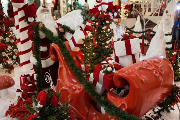 Decoração de Natal - Boulevard Shopping