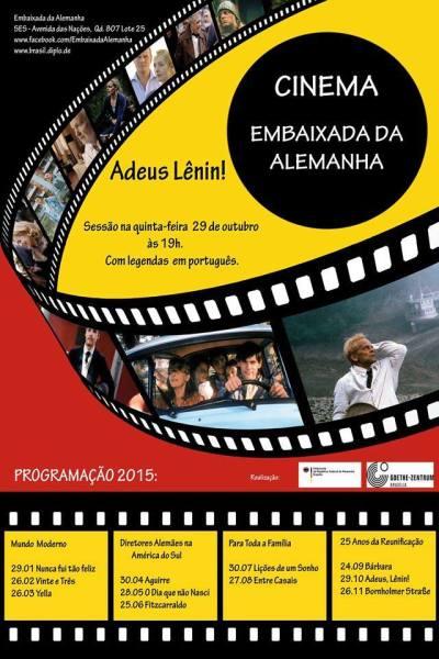 Exibição do filme Adeus, Lênin! na Embaixada da Alemanha
