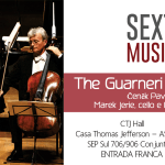 The Guarnieri Trio Prague apresenta-se na Casa Thomas Jefferson
