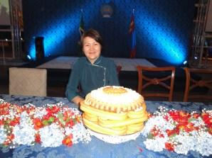 Embaixadora da Mongólia em Brasília, Sosormaa Chuluunbaatar