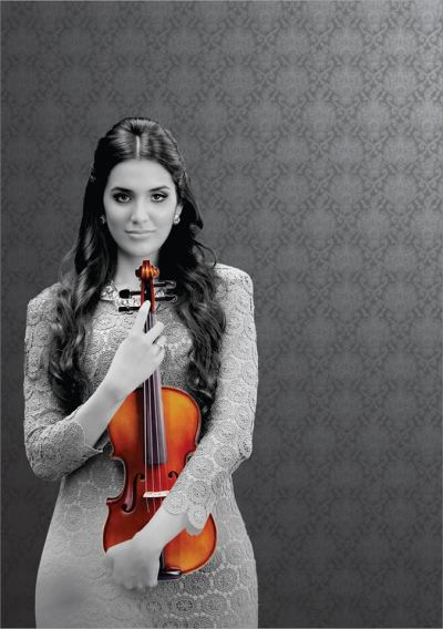 Violinista dominicana Aisha Syet apresenta-se hoje, 06/10, com a Orquestra Sinfônica do Teatro Nacional Claudio Santoro